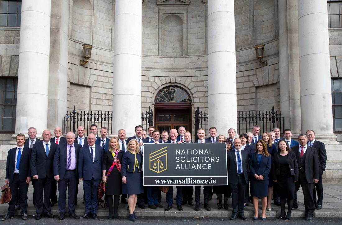 Proud members of The National Solicitors Alliance